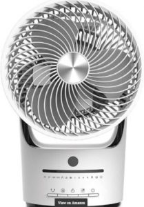 Dimplex XPELAIR HIGH Velocity Cooling 360 Degree Fan XPA360CF with Remote, Nylon