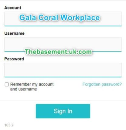 Galacoral Workplace Online